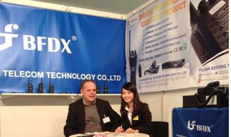 yabo19app携中国第一套dPMR数字集群通信系统出席欧洲通信展