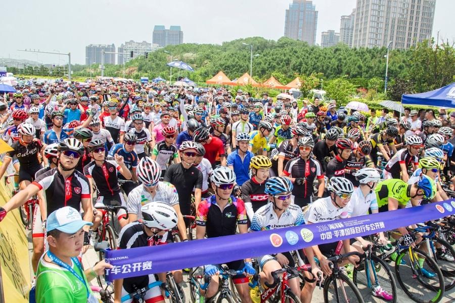 北峰为国际自行车赛提供通信保障,岚岛角逐无惧风雨!