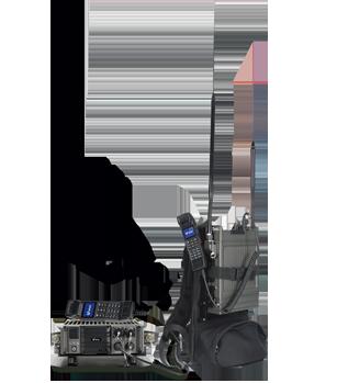 数字便携式双频无线自组网设备